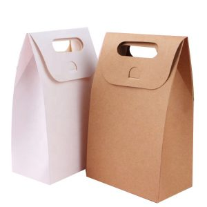 kraft box with handle-2