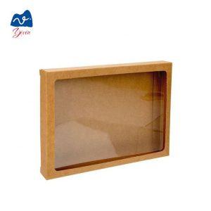 kraft gift box with window-2