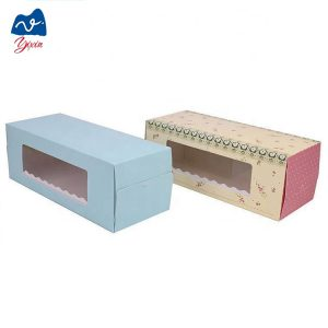 kraft macaron box-1