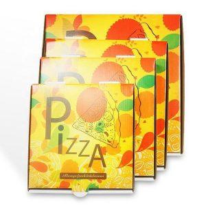 kraft paper pizza box-2