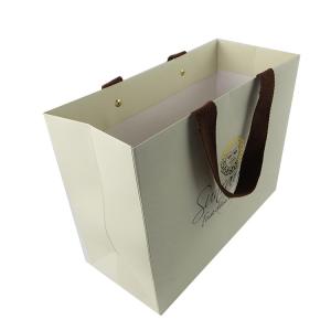 luxury kraft paper bag-2