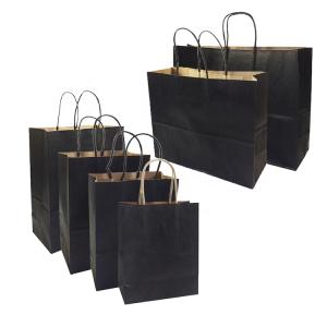 offset print kraft paper bag-2