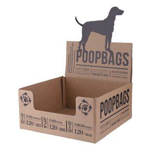 paper display box for dog poop bag-1