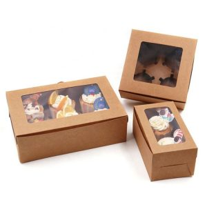 paper food recyclable cake box-1