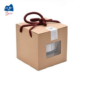paper pillow box with handle-2