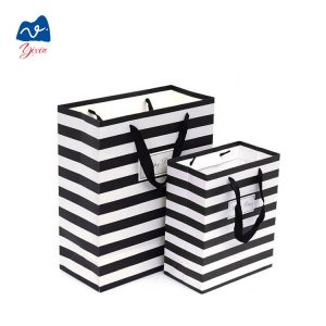 paper shopping bag with ribbon-1