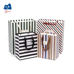 paper shopping bag with ribbon-2