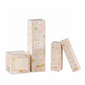 perfume box with metal logo-1