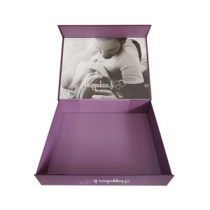 rigid foldable gift box-1