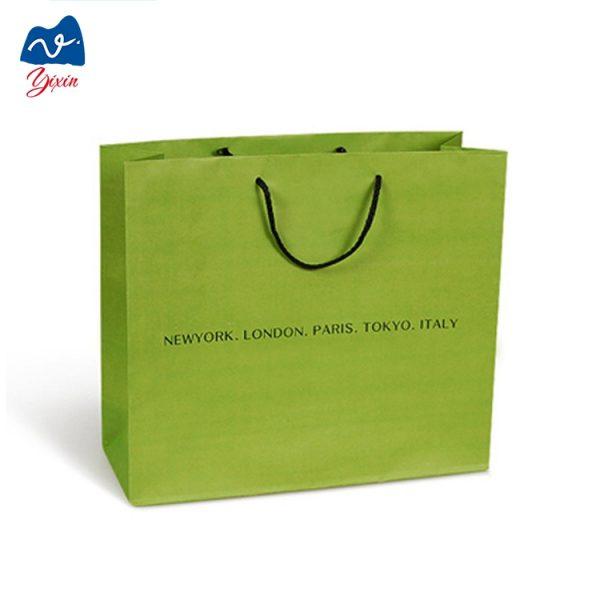 simple design fashion custom paper bag-1
