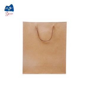 square bottom kraft paper bag-2