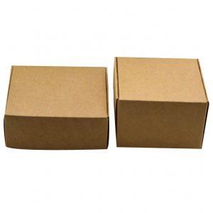 tealight candle kraft paper packaging box-2