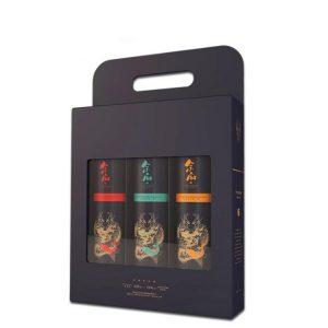 three packs wine packaging box-1