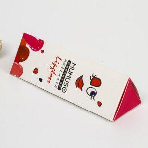 triangle lipstick paper box-2