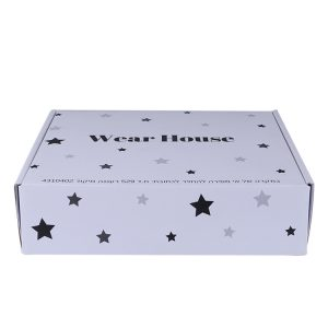 white shipping box with logo-1