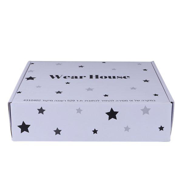 white shipping box with logo-1