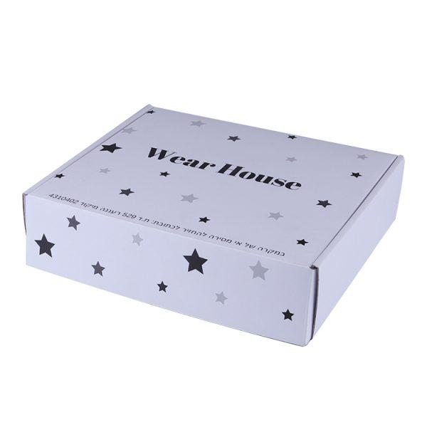 white shipping box with logo-2