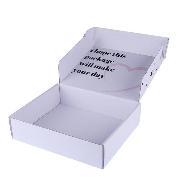 white shipping box with logo-3